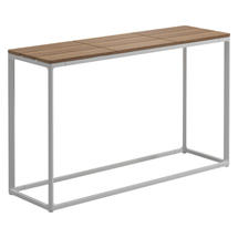 Maya Low Console Table 100 x 30 Teak - White