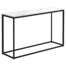 Maya Low Console Table 100 x 30 Bianco Ceramic - Meteor