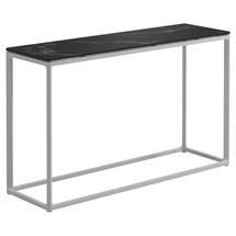 Maya Low Console Table 100 x 30 Nero Ceramic - White