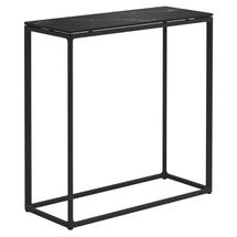 Maya Tall Console Table 75 x 30 Nero Ceramic - Meteor