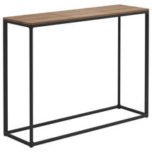 Maya Tall Console Table 100 x 30 Teak - Meteor