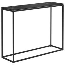 Maya Tall Console Table 100 x 30 Nero Ceramic - Meteor