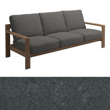 Loop 3-Seater Sofa Charcoal Strap - Granite