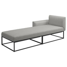 Maya Left / Right Daybed 211 x 86 Meteor- Seagull