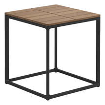 Maya Side Table 45 x 45 Teak - Meteor