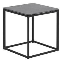 Maya Side Table 45 x 45 Pumice Ceramic - Meteor