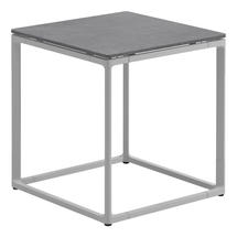 Maya Side Table 45 x 45 Pumice Ceramic - White