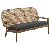 Kay Low Back Sofa Harvest Weave- Blend Coal