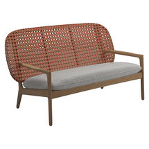 Kay Low Back Sofa Copper Weave- Seagull