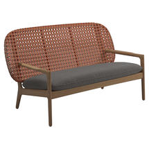 Kay Low Back Sofa Copper Weave- Granite