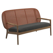 Kay Low Back Sofa Copper Weave- Blend Coal