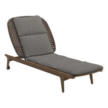 Kay Lounger Brindle Weave- Fife Rainy Grey