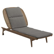 Kay Lounger Harvest Weave- Fife Rainy Grey