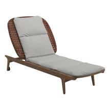 Kay Lounger Copper Weave- Seagull