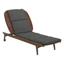 Kay Lounger Copper Weave- Blend Coal