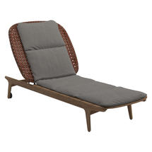 Kay Lounger Copper Weave- Fife Rainy Grey