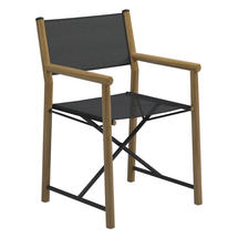 Voyager Directors Chair  - Meteor / Anthracite Sling