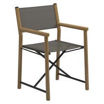 Voyager Directors Chair  - Meteor / Granite Sling