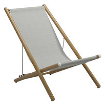 Voyager Deck Chair  - White / Seagull Sling