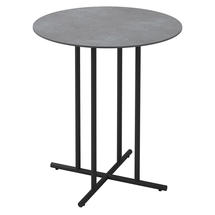Whirl 90cm Round Bar Table Pumice Ceramic  - Meteor