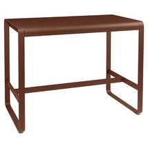 Bellevie High Table 140 x 80cm - Red Ochre