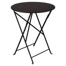 Bistro+ 60cm Round Table  - Liquorice