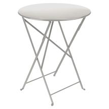 Bistro+ 60cm Round Table  - Steel Grey