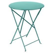 Bistro+ 60cm Round Table  - Lagoon Blue