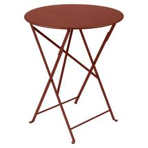 Bistro+ 60cm Round Table  - Red Ochre
