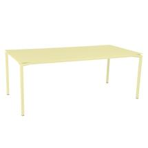 Calvi Table 195 x 95cm - Frosted Lemon