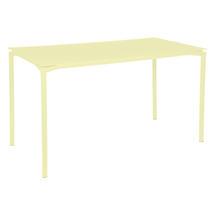Calvi Table 160 x 80cm - Frosted Lemon