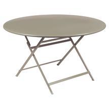 Caractere Round 128cm Table - Nutmeg