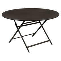 Caractere Round 128cm Table - Russet