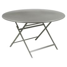 Caractere Round 128cm Table - Steel Grey