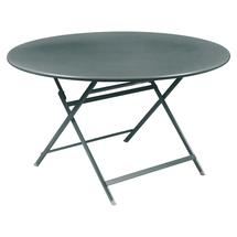 Caractere Round 128cm Table - Storm Grey