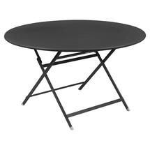 Caractere Round 128cm Table - Anthracite