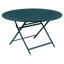 Caractere Round 128cm Table - Acapulco Blue