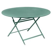 Caractere Round 128cm Table - Lagoon Blue