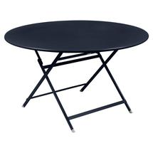 Caractere Round 128cm Table - Deep Blue
