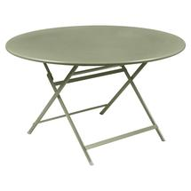 Caractere Round 128cm Table - Willow Green