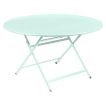 Caractere Round 128cm Table - Ice Mint