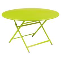 Caractere Round 128cm Table - Verbena Green