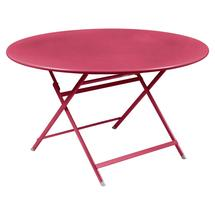 Caractere Round 128cm Table - Pink Praline