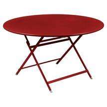 Caractere Round 128cm Table - Poppy