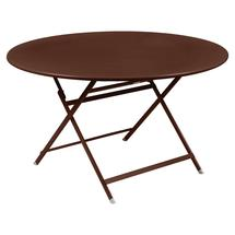 Caractere Round 128cm Table - Red Ochre