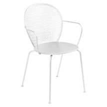 Lorette Armchair  - Cotton White
