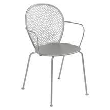 Lorette Armchair  - Steel Grey