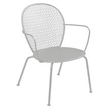 Lorette Low Armchair  - Steel Grey