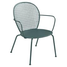 Lorette Low Armchair  - Storm Grey