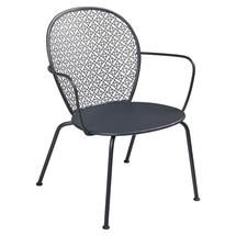 Lorette Low Armchair  - Anthracite